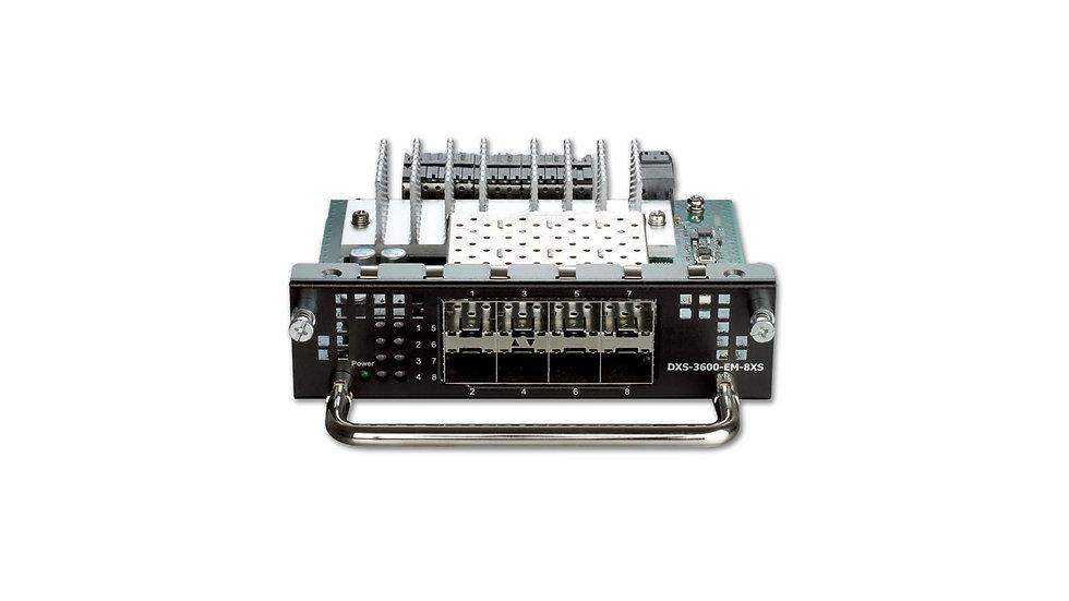 D-Link DXS-3600-EM-8XS L3 10 Gigabit Stackable Managed Switches