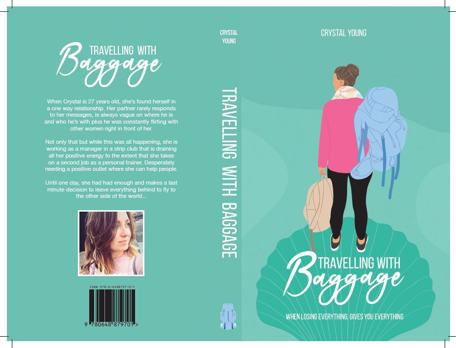 Book Cover, spine, back
