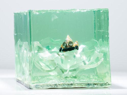 Nemo's Plastic Beer Ring Anemone (Sculpture) - (Scapa Joe)