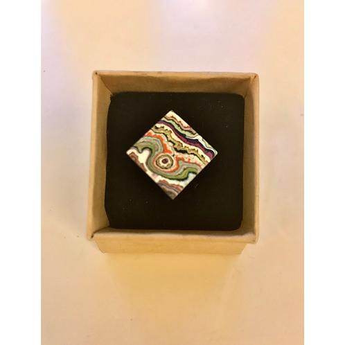 Graffiti Ring (Diamond), by Koen Noordenbos