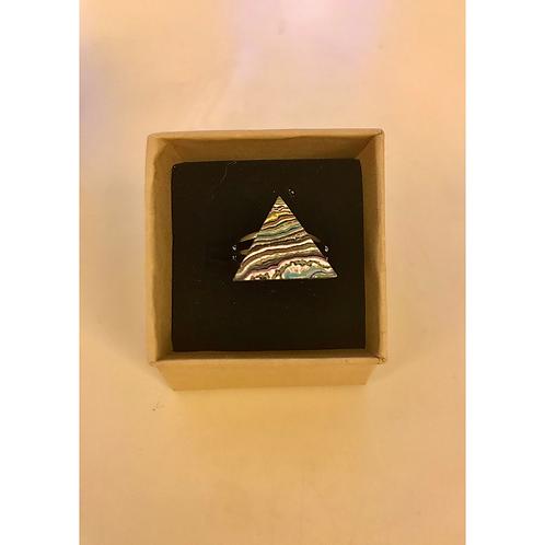 Graffiti Ring (Triangle), by Koen Noordenbos