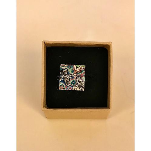 Graffiti Ring (Square), by Koen Noordenbos