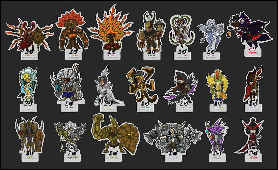 CUTE & DANGEROUS STANDEES COLLECTION