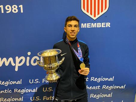 Luiz Felipe Reis, o craque do futsal juiz-forano