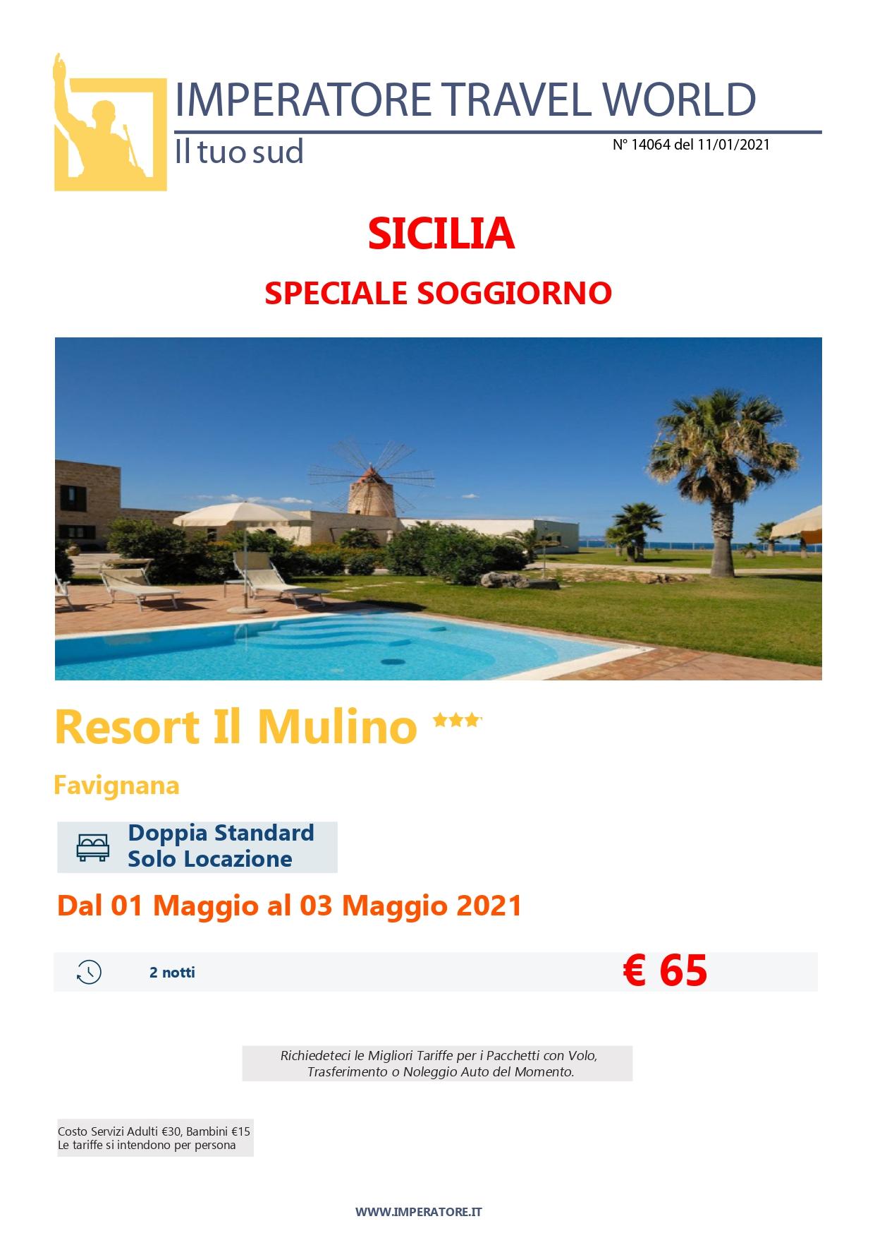 14064)20 Sicilia -Resort Il Mulino - Spe