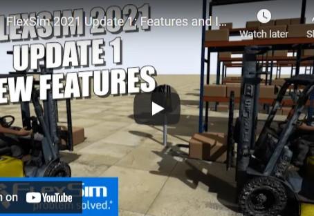 FlexSim 2021 Update 1: Features and Improvements