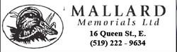 Mallard Memorials