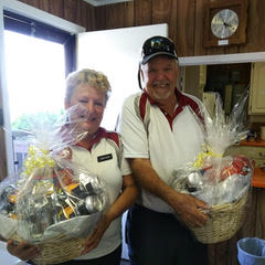 1st Place - Barb & Richard