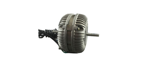 HIGH QUALITY HEAVY DUTY 20 WATT ROUND CONDENSER FAN MOTOR (DUAL SHAFT)