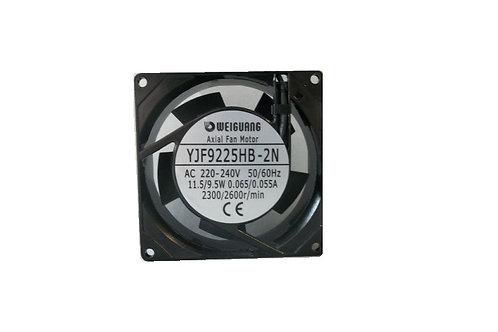 YJF9225HB-2N AC AXIAL FAN 92X92X25 240V 50HZ 11.5/9.5W 0.065/0.055A 2300/2600r/m