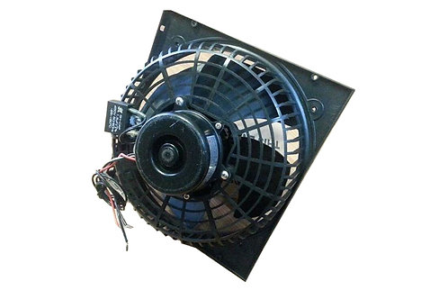 CONDENSING FAN MOTOR 25W WITH GRID 250MM THERMALLY PROTECTED