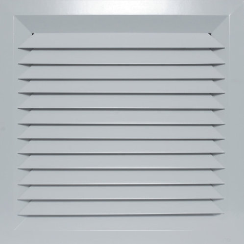 Lay-In Diffuser LD1-225 x 225 (FACE: 375 X 375)   With Neck Adapter