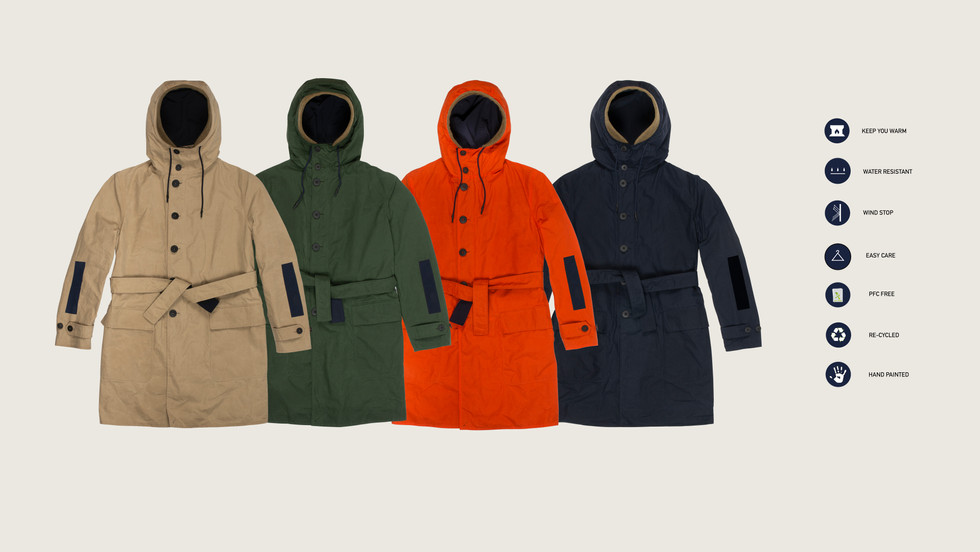 TOSA REVERSIBLE PARKA