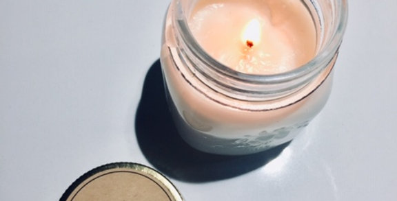 SMALL LAVENDER SOY CANDLES