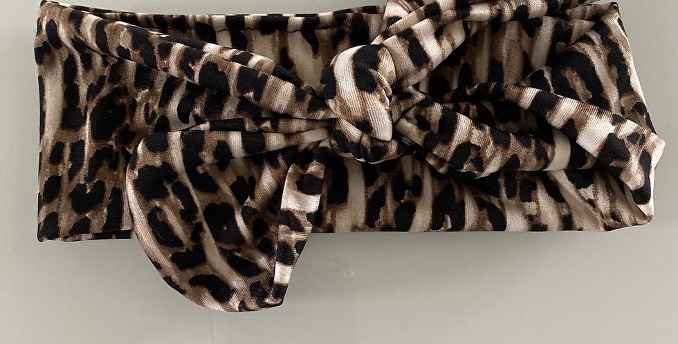Cheetah Adjustable Headband