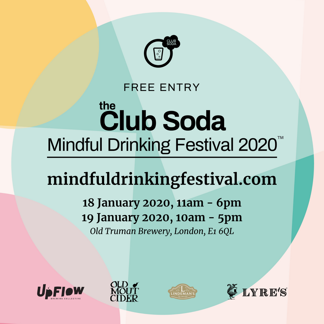 Mindful Drinking Festival Square Flyer