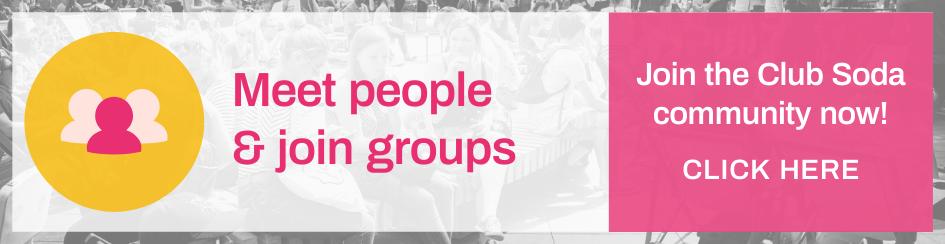 Club Soda Community Website Banner