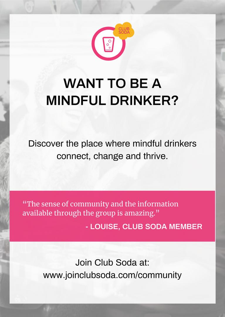 Mindful Drinking Festival Leaflet
