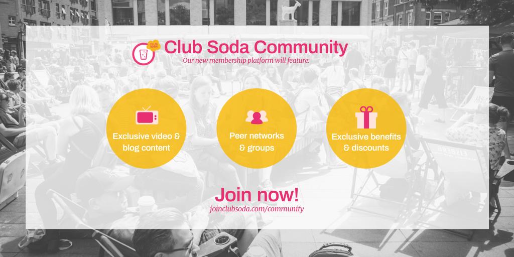 Club Soda Community for Twitter