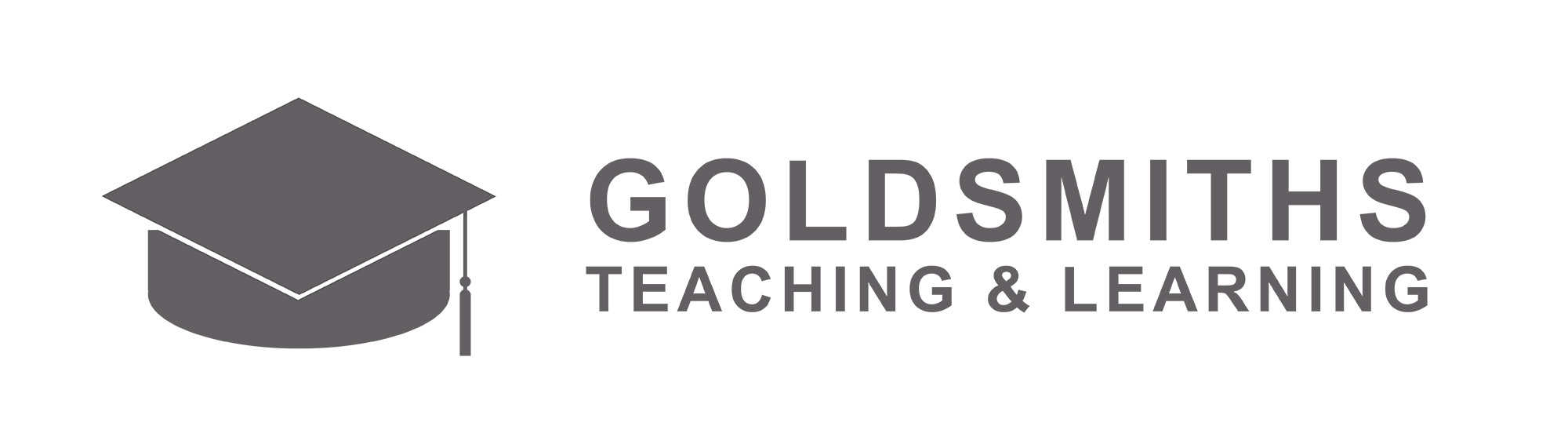 Goldsmiths Teaching and Learning Logo Wide