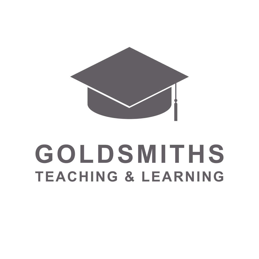 Goldsmiths College Teaching and Learning Logo