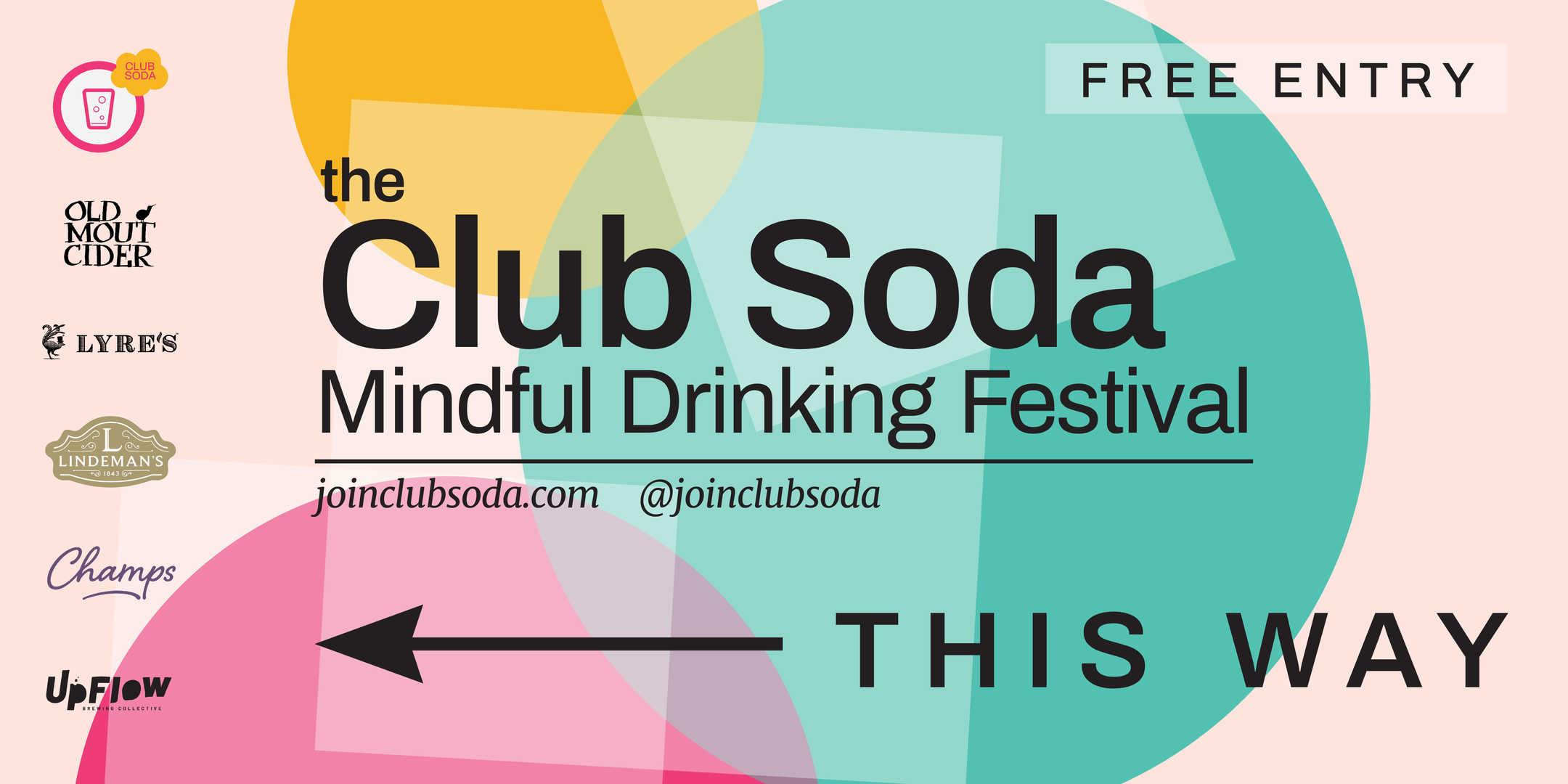 Mindful Drinking Festival Gate Banner