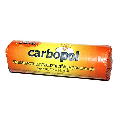 10 CHARBONS CARBOPOL 33mm
