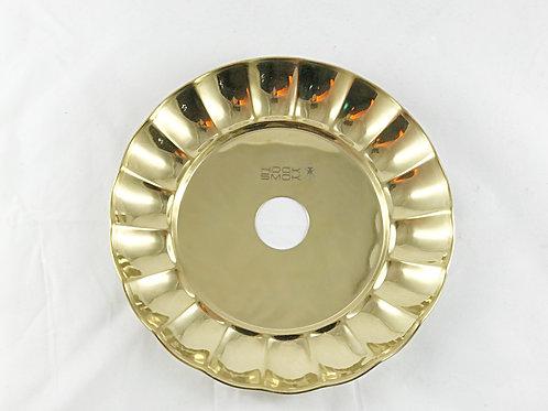 Assiette pour chicha Gold