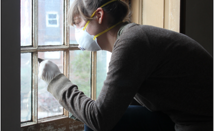 Architectural Conservators from Fairmount Park Conservancy