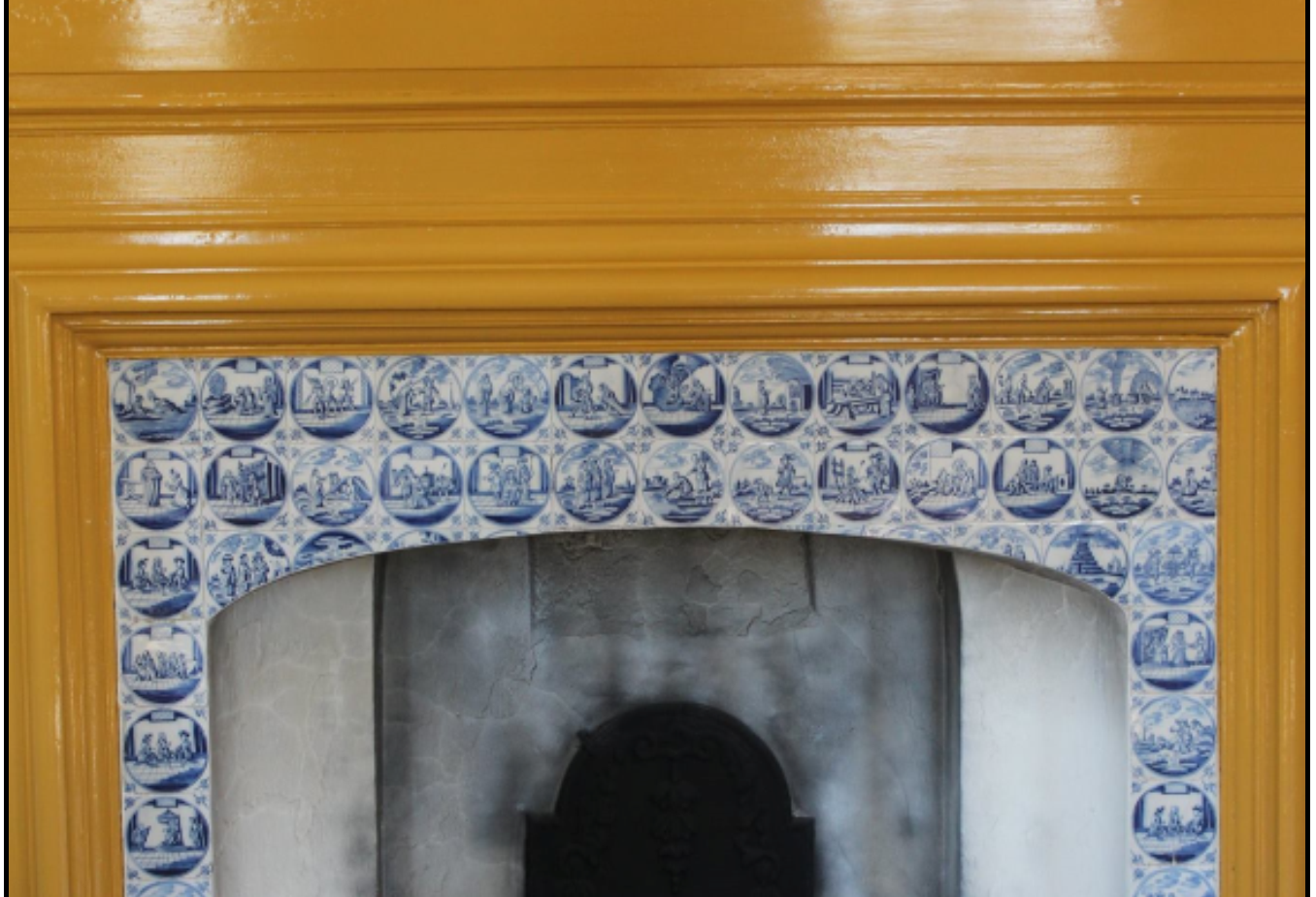 The Fireplace Wall after Treatment