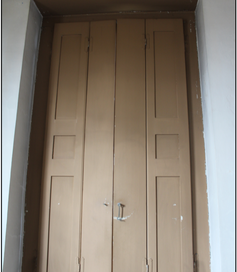 Interior Side of Shutters Prior to Treatment
