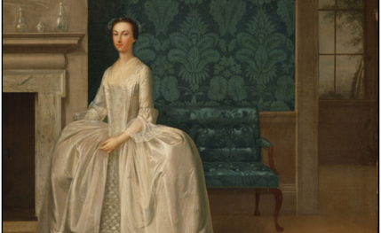 Arthur Devis' 1751 portrait of Lady Juliana Penn, Philadelphia Museum of Art