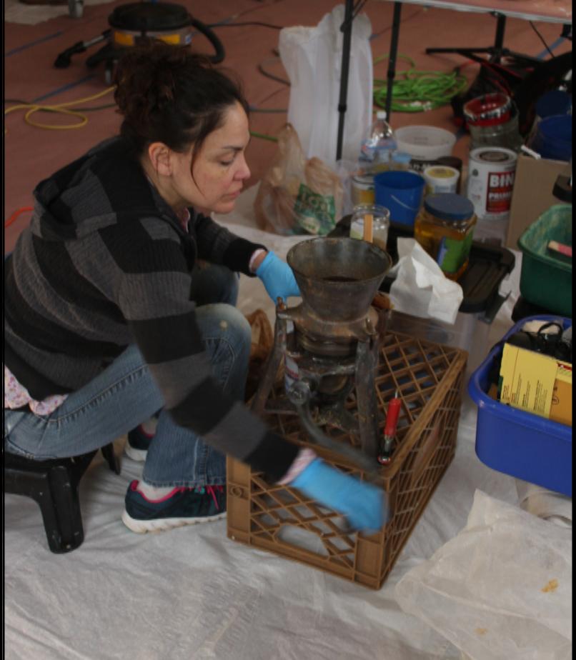 Erika Sanchez Goodwillie, Historical Painter