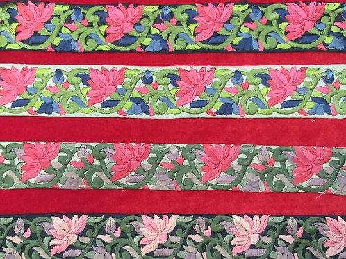 Product #Ne49 | Machine Embroidered Parsi Gara Border