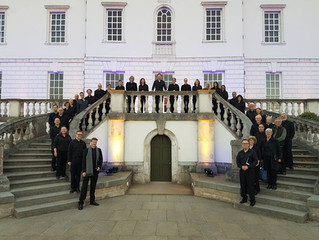 five15 commission performed at the Queen's House, Royal Museums Greenwich