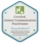 Certified Animal Communicator badge