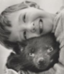 George Wright the Animal Communicator with Tasmanian Devil
