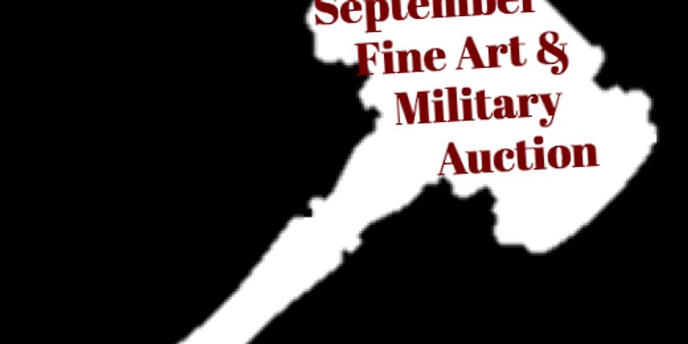 September Fine Art & Military Auction