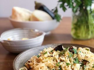 Lemon and Roasted Vegetable Pasta Salad