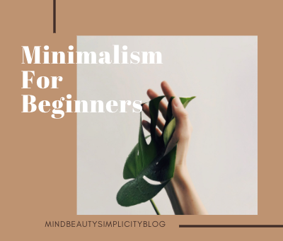 Minimalism For Beginners