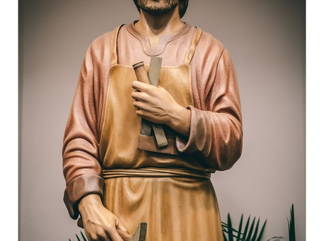 The Year of St. Joseph - A Working Father