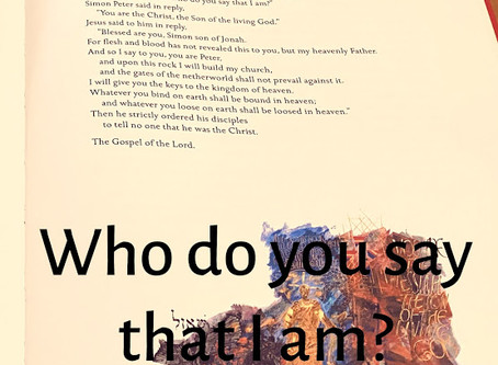 Who Do You Say That I Am? Part 2