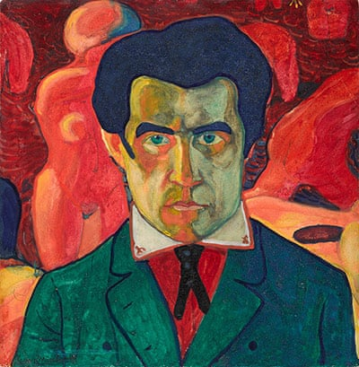 Self-Portrait-1908-1910-006