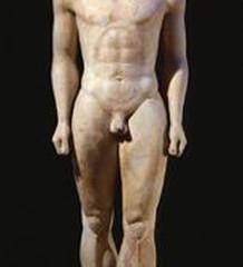 Spotlight Artist: Greek Sculpture - Kouros figure