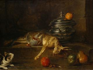 Spotlight Artist: #1  Jean-Baptiste-Siméon Chardin (1699 - 1779)