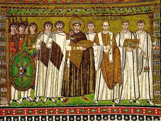 Spotlight Artwork: Justinian and His Attendants - Byzantine Art