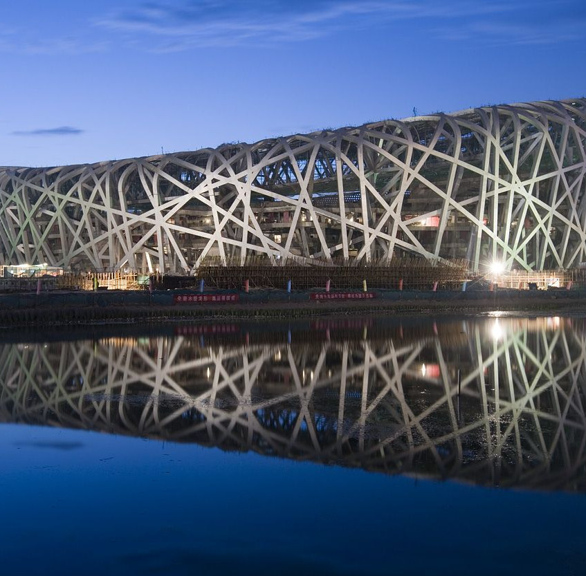 The-Chinese-National-Stadium-in-Beijing-