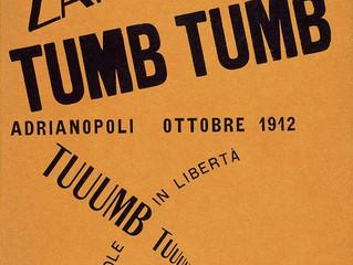 Spotlight Artist:  Futurism- F.T. Marinetti