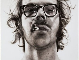Spotlight Artist: #5  Chuck Close (b. 1940) Photorealism