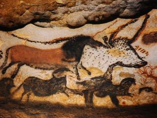 Spotlight Artwork:  Caves Paintings of Lascaux